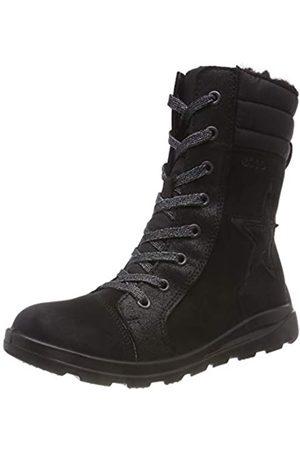 Ecco Girls' Janni Combat Boots
