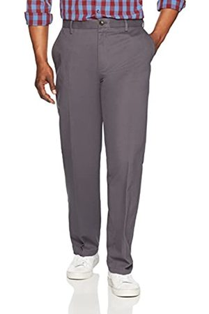 Amazon Classic-Fit Wrinkle-Resistant Flat-Front Chino Pant )