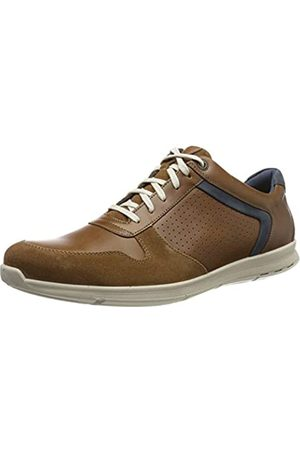 Jomos Men's Rogato Oxfords, (Cognac/Tuareg/Navy 875-3073)