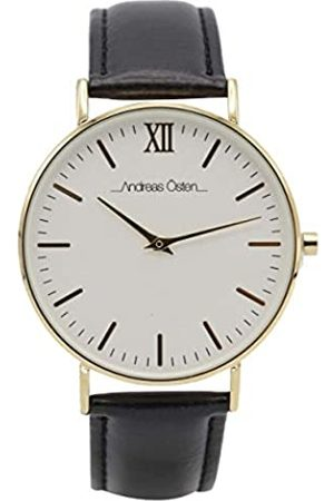 Andreas Osten Unisex-Adult Analogue Classic Quartz Watch with Nylon Strap AO-35