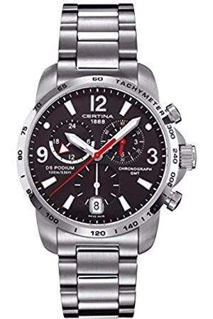 Certina 0 – Quartz Watch for Men with Stainless Steel Strap