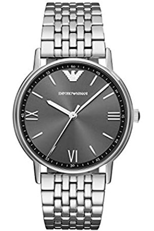Emporio Armani Men's Analogue Quartz Watch with Stainless Steel Strap AR11068
