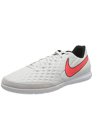 Nike Unisex Adults Tiempo Legend 8 Academy Ic Soccer Shoe, Platinum Tint/Bright Crimson/