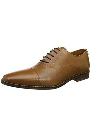 Red Tape Mens Stanton Tan Formal Shoe, (Tan)