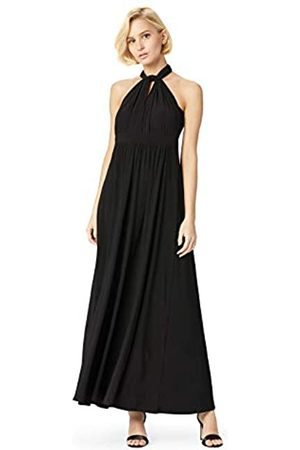 TRUTH & FABLE Amazon Brand - Women's Maxi Halter Dress, 18