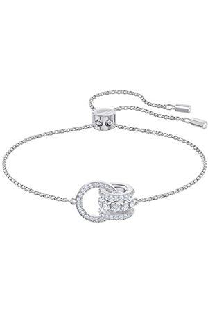 Swarovski Women's Rhodium plated Further Bracelet 5498999