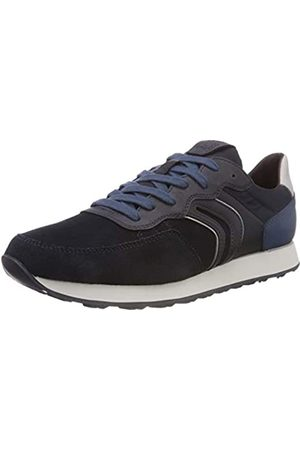 Geox Men's U Vincit B Low-Top Sneakers, (Navy/Lt C0832)