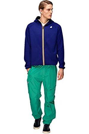 K-Way Men's Le VRAI 3.0 Victor Unisex Jacket , ( Royal 618)