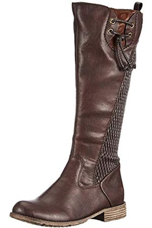 Rieker Women's Herbst/Winter High Boots, (Havanna/ /Moro / 25 25)