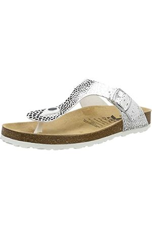LICO Women's Bioline Stone Low-Top Slippers, (Silber Silber)