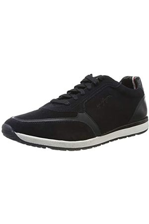 Tommy Hilfiger Men's Premium Suede Runner Low-Top Sneakers