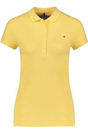 Tommy Hilfiger Women's SHORT SLEEVE SLIM POLO T - Shirt