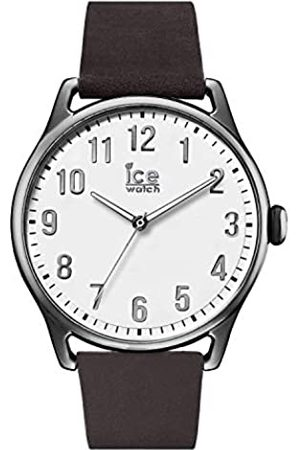 Ice-Watch ICE time Dark brown - Men's wristwatch with leather strap - 013044 (Large)
