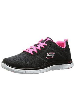 Skechers Flex Appeal Simply Sweet, Women's Fitness Shoes, (Bkhp)
