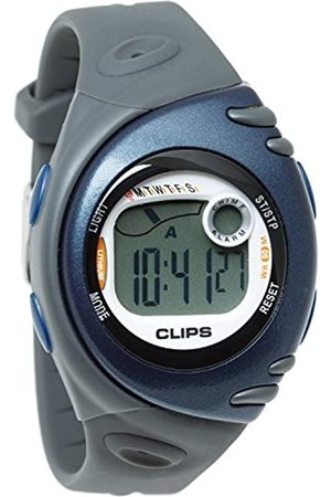 CLIPS Women's Quartz Watch with Dial Digital Display and Rubber Strap 539-1002-94