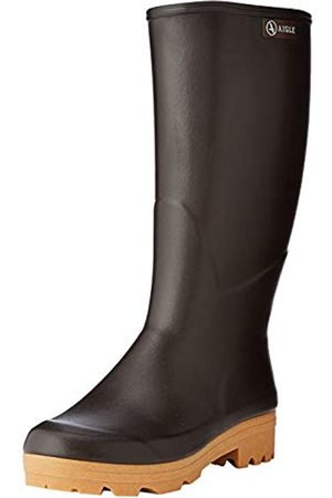 Aigle Men's Chambord Pro 2 Iso Work Wellingtons, (Brun 001)