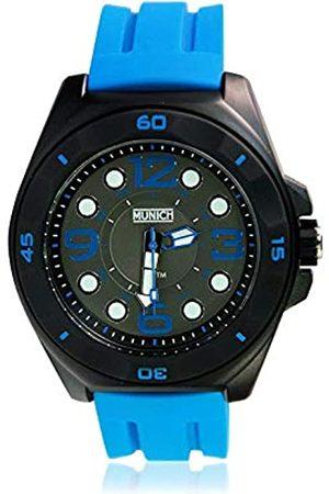Munich Unisex Adult Analogue Quartz Watch with Silicone Strap MU+112.2A