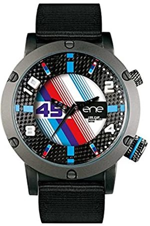 Eñe Men's Analogue Quartz Watch with Nylon Strap 650000115