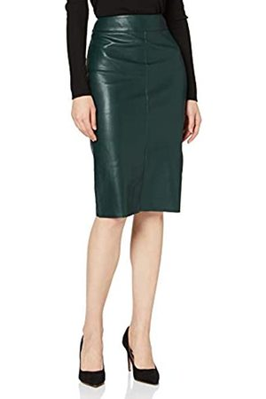 Dorothy Perkins Women's Pu Split Front Midi Skirt