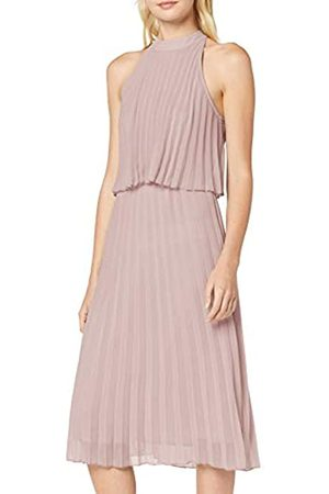 New Look Women's GO EC Halter PLTD MIDI Dress