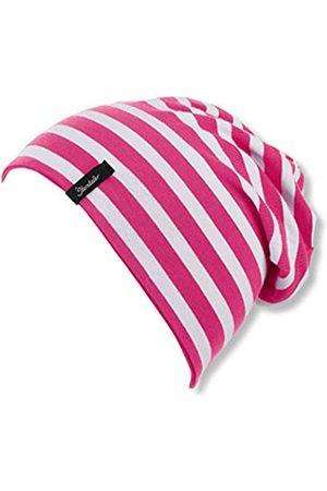 Sterntaler Girl's Slouch Beanie Hat, Reversible