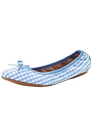 Butterfly Twists Women's Annie Closed Toe Ballet Flats, ( Gingham BT22-022)