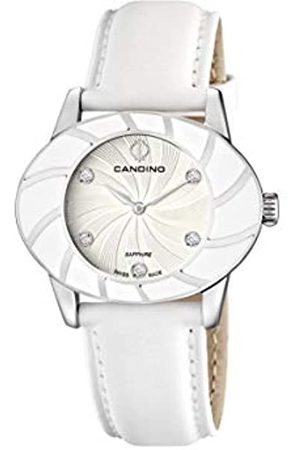 Candino Womens Analogue Classic Quartz Watch with Leather Strap C4465/1