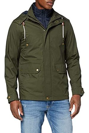Brooks Brothers Men's Out 3 in 1 Jacket Olive Night Cape