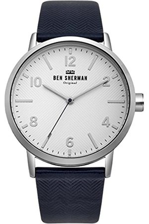 Ben Sherman Mens Analogue Classic Quartz Watch with Nylon Strap WB070UB
