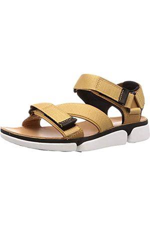 Clarks Men's Tricove Sun Ankle Strap Sandals, (Tan Combi)
