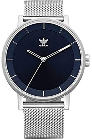 adidas Mens Analogue Quartz Watch with Stainless Steel Strap Z04-2928-00
