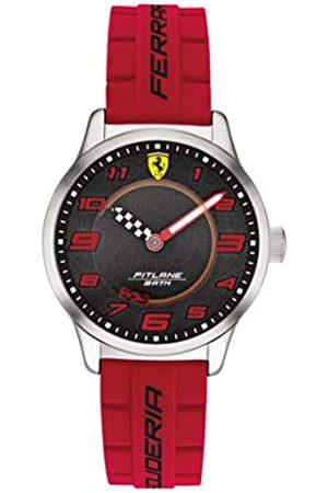 Scuderia Ferrari Boy's Analogue Quartz Watch with Silicone Strap 0860013