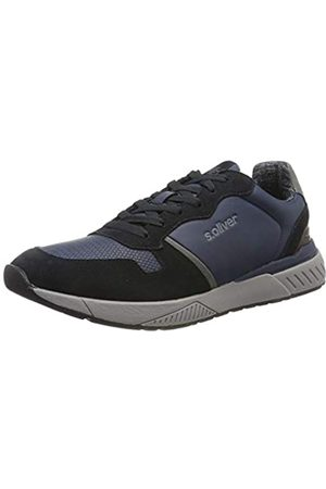 s.Oliver 5-5-13607-33 805, Men's Low-Top Sneakers, (Navy 805)