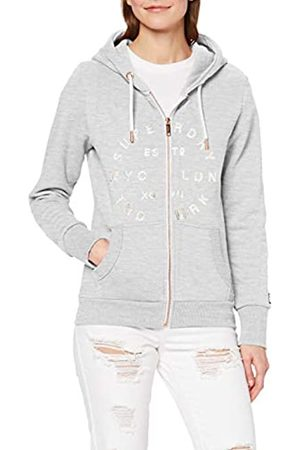 Superdry Women's NYC Studio Foil Ziphood Ub Hoodie
