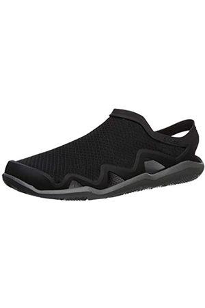 Crocs Men's Swiftwater Mesh Wave Closed Toe Sandals, ( /Slate 0dd)