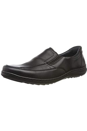 Waldläufer Men's Herwig Loafers, (Palmer Schwarz 001)