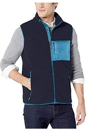 Goodthreads Sherpa Fleece Vest Navy