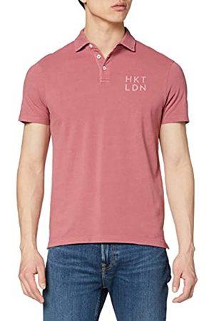HKT BY HACKETT Men's Hkt Dyed Pique Polo Shirt