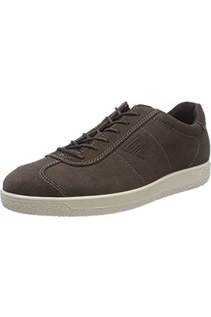 ECCO Men's Soft 1 Trainers, (Licorice 2507)