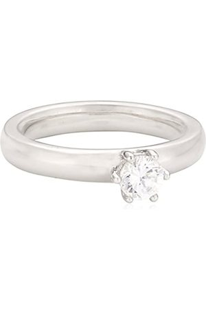 Viventy Choose Me Ladies' Ring 925 Sterling 1 Cubic Zirconia EU Size 56 mm (17.8) 765021