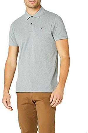 GANT Men's Solid Pique Rugger Regular Fit Short Sleeve Polo Shirt