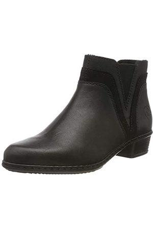 Rieker Women's Herbst/Winter Ankle Boots, (Schwarz/Schwarz/Schwarz 02)