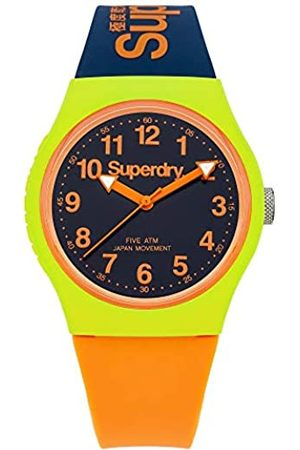 Superdry Men's Analogue Quartz Watch with Silicone Strap SYG164MU
