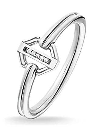 Thomas Sabo Women-Ring Vintage silver Glam & Soul 925 Sterling silver D_TR0036-725-14-58