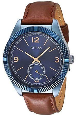 Guess Mens Multi dial Quartz Watch with Nylon Strap W0975G2