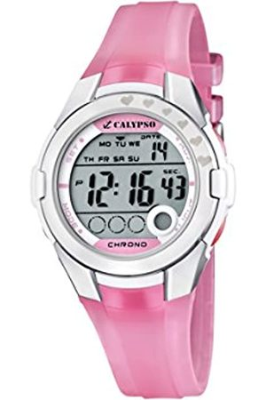 Calypso Girl's Digital Watch with LCD Dial Digital Display and Plastic Strap K5571/2
