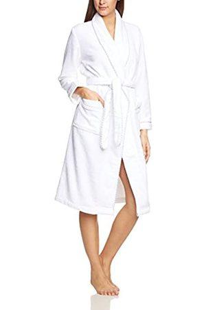 Calida Women's Bathrobe After Shower, -Weiß (Weiss 001)