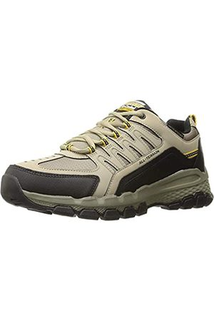 Skechers Men's Outland 2.0-Rip-Staver Hi-Top Trainers, (Taupe Tpbk)