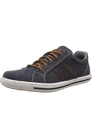 Rieker Men's 19011-14 Low-Top Sneakers, Amaretto/Navy 14