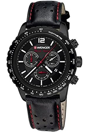 Wenger Men's Chronograph Quartz Watch with Leather Strap 01.0853.108